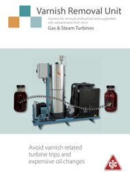 CJC - Varnish Removal Unit Brochure